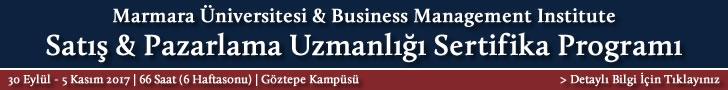 Satış Pazarlama Uzmanlığı Sertifika Programı